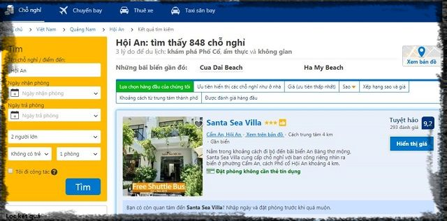 Hotline của Booking