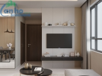 Design of a 2-bedroom apartment with an area of 65.3 m2 Phase 2 The Habitat Binh Duong