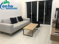Habitat Thuan An apartment for rent, fully furnished, 78 sqm, 2 bedrooms furnished balcony, balcony view park