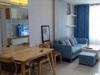 Selling apartment on the 6th floor of The Habitat Binh Duong apartment building, 2 bedroom, 2 WC full furnished