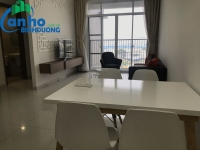 Habitat apartment with 2 bedrooms, 7th floor, balcony view park for rent in The Habitat Binh Duong