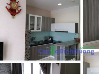Comfortable 2-bedroom Sunrise apartment for rent in Becamex Hotel