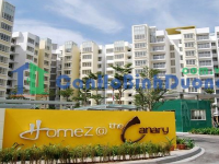 Sell Home Z @ The Canary apartment with enough furniture right in Thuan An